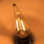 IKEAのフィラメント風なLED電球を買ってみました!