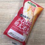 フジパンの『かねふく明太ポテト』食べました!