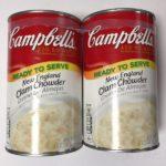 コストコの『キャンベル クラムチャウダー』食べました!