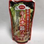 生協の『キムチ鍋つゆ』食べてみました!