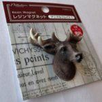 100均セリアのリアル動物なマグネット『アニマルフェイス』鹿さんがカッコイイ!
