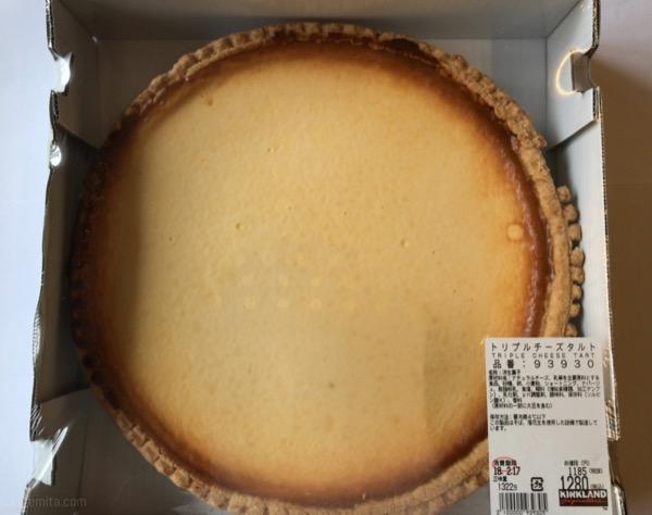 コストコの『トリプルチーズタルト』が超おいしいチーズケーキ!