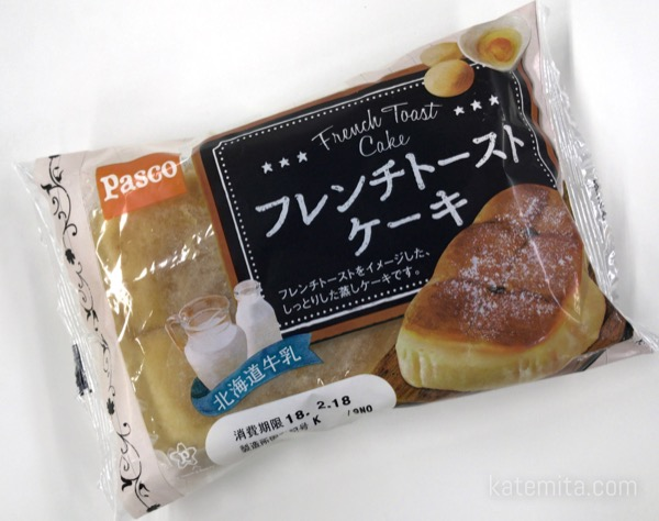 パスコの『フレンチトーストケーキ』がふわふわ甘くて美味しい!