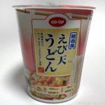COOPの『関西風 えび天うどん』が美味しい!