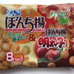 ぼんち揚8パックの『明太子味』が美味しい!