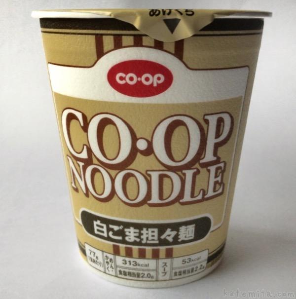 生協の『コープヌードル 白ごま担々麺』が美味しい!