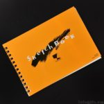 ダイソーで100円の『マルマン スケッチブック』を買ってきました!