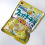 ブルボンの『フェットチーネグミ レモン味』が酸っぱくて美味しい!