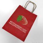 スタバのイチゴ柄の紙袋『#STRAWBERRYVERYMUCHFRAPPUCCINO』が赤くて可愛い!