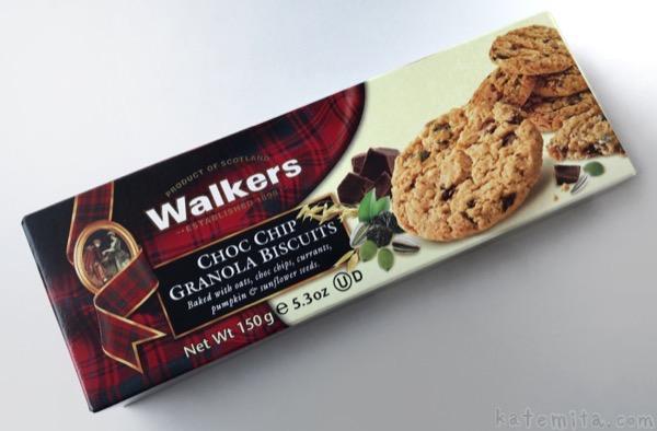 ウォーカーの『チョコチップグラノーラビスケット』が美味しい!