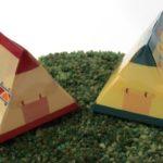 100均セリアの『LEDキャンドルホルダー(テント型)』が可愛い!