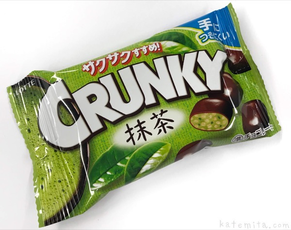 ロッテの『クランキーポップジョイ(抹茶)』が濃い美味しさ!
