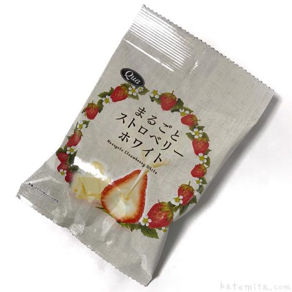 エフコムの『Qua まるごとホワイトストロベリー』がまるっと苺で美味しい!