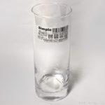 100均セリアの縦長ガラスコップ『Simpleスリムロングタンブラー』が良い!