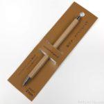 100均ワッツの『シャープペンシル 木目調(2mm)』が鉛筆みたい!