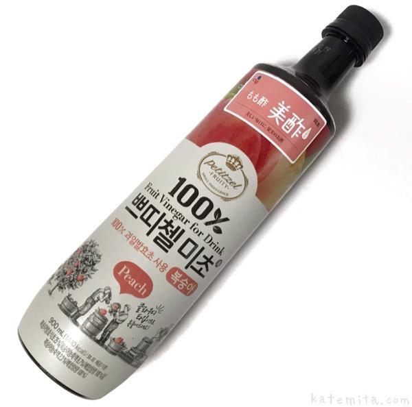 コストコの『美酢(ミチョ) もも酢』が桃味で美味しい!