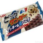 ユーラクの『ビッグサンダー クッキー&塩バニラ』が塩顔で甘じょっぱい!