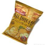 ヘテ製菓の韓国ポテチ『ハニーバターチップ』をカルビーが輸入で美味しい!