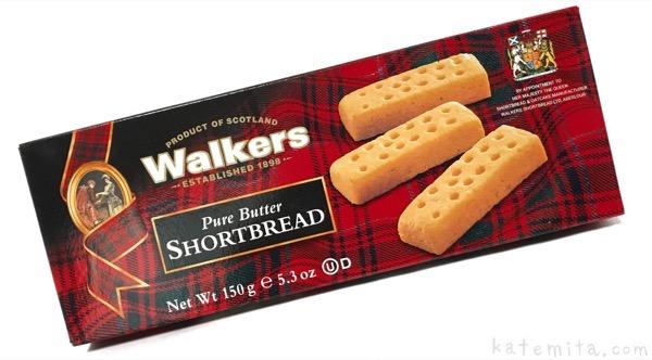 ウォーカーの『ショートブレッドフィンガー』がサクッと美味しい!