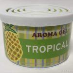 100均のカー用品『アロマ ジェル缶芳香剤』がフルーツな香りで良い!