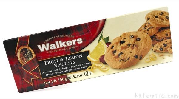 ウォーカーの『フルーツ& レモンビスケット』がレモンで美味しい!