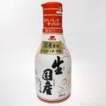 イチビキの『生国産しょうゆ』の香りが良く美味しい!