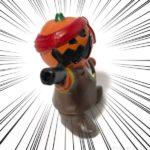 ダイソーのカボチャ海賊『ハロウィン ミニチュア置物 海賊シリーズ』が銃でカッコイイ!