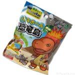 100均の入浴剤『バスボール 恐竜島』が子供向けおもちゃ入り!