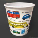 100均セリアの『ダストボックス 乗り物』がオシャレな車で可愛い!