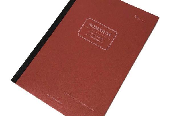 100均のノート『SOMNIUM(A5無線綴じノートA罫50枚)』がオシャレ!