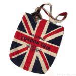 3コインズの『リバーシブルトートバッグ(LONDON TRIP)』がユニオンジャックとチェック柄で可愛い!
