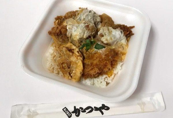 かつやの『カキフライ丼』が大きいサイズで味付けが良い!!