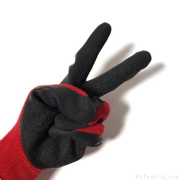 100均セリアの手袋『作業用ゴムグローブ』が滑り止めで便利 ...