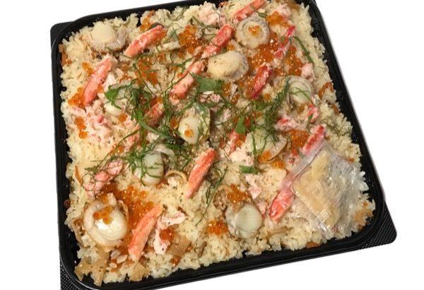 コストコのお寿司『ずわいがにと帆立ちらし』が超おいしい!