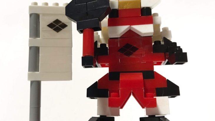 100均セリアの『マイクロブロック 武田信玄』が戦国武将でカッコイイ!