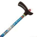 ダイソーの杖『ステッキ(スチール製)』が150円で軽くて素敵!