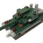 ダイソーの『プチブロック 戦車』は戦車砲が左右に動いてスゴイ!