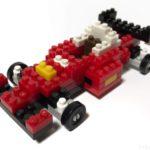ダイソーの『プチブロック レーシングカー』は運転席もあってカッコイイ!