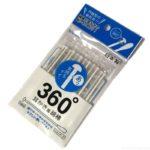 100均の『360度耳かき風綿棒』がよく取れて気持ちいい!