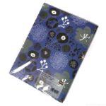 100均セリアの『A4ポケット式ファイル シックフラワー』の花柄が大人女子なデザインでオシャレ!