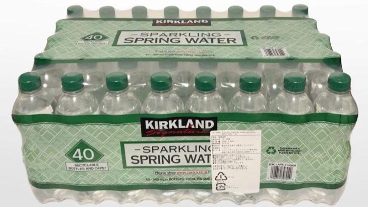 コストコの炭酸水『カークランド スパークリングスプリングウォーター500ml×40本』が激安で炭酸が強い!