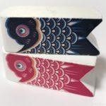 100均のミニオブジェ『端陽こいのぼり』が置き物で飾れて可愛い!