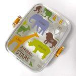 100均の『ANIMAL STARS サラダBOX』が動物シルエットの可愛いパッキン付き容器!