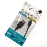 100均の『USB Type-C 変換ケーブル(Type-Cオス Aメス)』が便利!