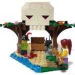 LEGOの『Creator 3in1 Treehouse Treasures(31078)』のドクロを作ってみました!