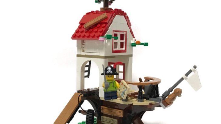 LEGOの『ツリーハウス(31078)』を作ってみました!