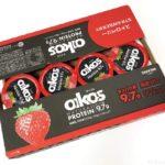 コストコの『ダノン オイコス 高タンパク質 脂肪0 ストロベリー』が果肉入りで美味しい!