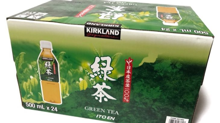 コストコの『カークランド緑茶 ITOEN』は500mlペットボトルがお得で美味しい!