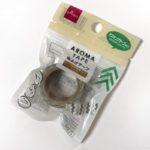 ダイソーの虫よけマステ『虫よけテープ』がアロマの香りを服にペタッと!