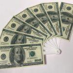 オーサムストアのお札団扇『ひだりうちわ』が100ドル紙幣みたいでイイ!